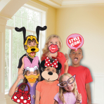 Minnie Mouse Photo Booth Kits - 6 PKG/12