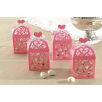 Light Pink Favours Lantern Boxes - 2 PKG/50