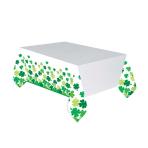 Shamrock Bloom Plastic Tablecovers 1.37m x 2.59m - 6 PC