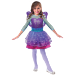 Barbie Rainbow Fairy Dress - Age 8-10 Years - 1 PC