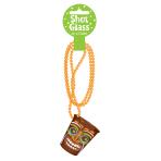 Hawaiian Totally Tiki Bead Chains with Shot Glass 51cm - 6 PC