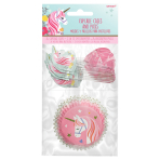 Magical Unicorn Cake Cases & Picks - 9 PKG/48