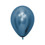 "Reflex Blue 940 Latex Balloons 5""/13cm - 50 PC"