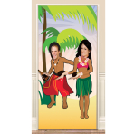 Photo Fun Hawaiian Door Posters 2m - 6 PC