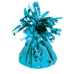 Baby Blue Foil Balloon Weights 170g/6oz - 12 PC