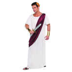 Adults Caesar Costume - Size M/L - 1 PC