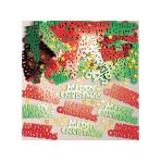 Merry Christmas Type Metallic Confetti Mix 14g - 12 PC