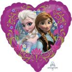 Disney Frozen Love Standard Heart Foil Balloons - S60 5 PC