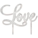 Love Cake Toppers - 4 PC