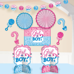 Girl or Boy Room Decoration Kit - 6 PC