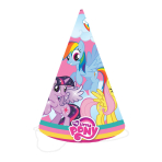 My Little Pony Party Hats - 5 PKG/8