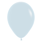 "Fashion Colour Solid White 005 Latex Balloons 12""/30cm - 25 PC"