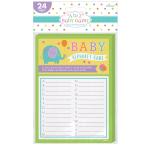 Baby Shower Alphabet Game - 12 PKG/24
