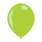 "Metallic Lime Green Latex Balloons 11""/27.5cm - 10 PKG/10"