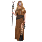 Witch Doctor Dress - Size Standard - 2 PC