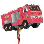 Fireman Sam Pull Pinatas - 4 PC