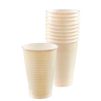 Vanilla Creme Plastic Cups 355ml- 10 PKG/20