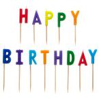 Happy Birthday Pick Candles - 6 PKG/13