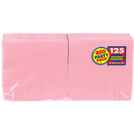 New Pink luncheon Napkins 33cm - 6 PKG/125