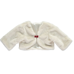 Faux Fur Shrug - Age 3-4 Years - 1 PC