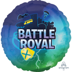 Battle Royal Standard Foil Balloons S40 - 5 PC