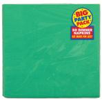 Festive Green Dinner Napkins 40cm 2ply - 12 PKG/50