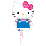 "Hello Kitty Summer Fun SuperShape Foil Balloons 22""/56cm w x 30""/76cm h P38 - 5 PC"