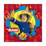 Fireman Sam Luncheon Napkins 33cm - 10 PKG/20