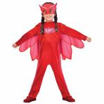 PJ Masks Owlette Costume - Age 7-8 Years - 1 PC