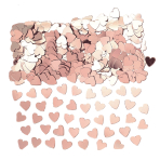 Hearts Rose Gold Confetti 14g - 12 PC