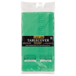 Festive Green 3-Ply Paper Tablecovers 1.37m x 2.74m - 6 PC
