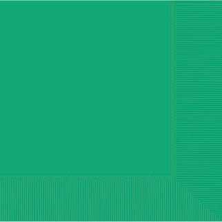 New Festive Green Beverage Napkins 2ply 23cm //20