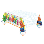 Ugly Dolls Plastic Tablecovers 1.37m x 2.59m - 6 PC