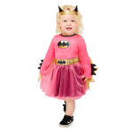 Pink Batgirl Costume - Age 2-3 Years - 1 PC