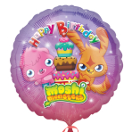 Moshi Monsters Happy Birthday Foil Balloon - Standard - S60 5 PC
