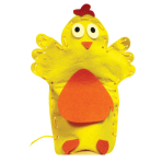 Easter Hand Puppet Kits - 6 PC