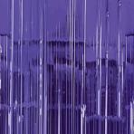 Purple Door Curtain 91cm x 2.43m - 6 PC