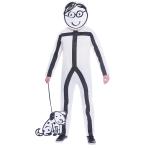 Stick Man Costume - Plus Size- 1 PC