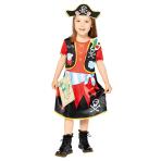 Peppa Pig Pirate Costume - Age 1-2 Years - 1 PC