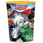 Justice League Plastic Favour Cups 473ml - 12 PC