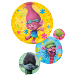 "Trolls SuperShape Foil Balloons 22""/55cm w x 28""/71cm h P38 - 5 PC"