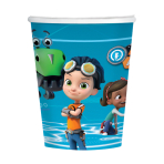 Rusty Rivets Paper Cups 250ml - 6 PKG/8
