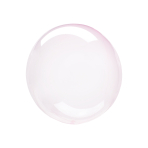 "Crystal Clearz Petite Light Pink Unpackaged Balloons 12""/30cm S15 - 10 PC"