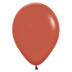 """Fashion Colour Terracotta 072 Latex Balloons 12""""/30cm - 50 PC"""