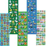 Animals Sticker Value Pack    - 12 PKG/350