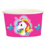 Unicorn Paper Treat/Ice Cream Cups 251ml - 10 PKG/8