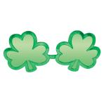 St. Patrick's Day Giant Shamrock Fun Shades 27cm - 6 PC