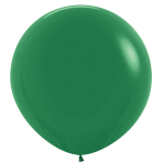"""Fashion Colour Solid Forest Green 032 Latex Balloons 36""""/91.5cm - 2 PC"""