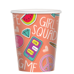 Selfie Celebration Paper Cups 266ml - 12 PKG/8