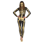 24 Carat Bones Costume - Size 10-12- 1 PC